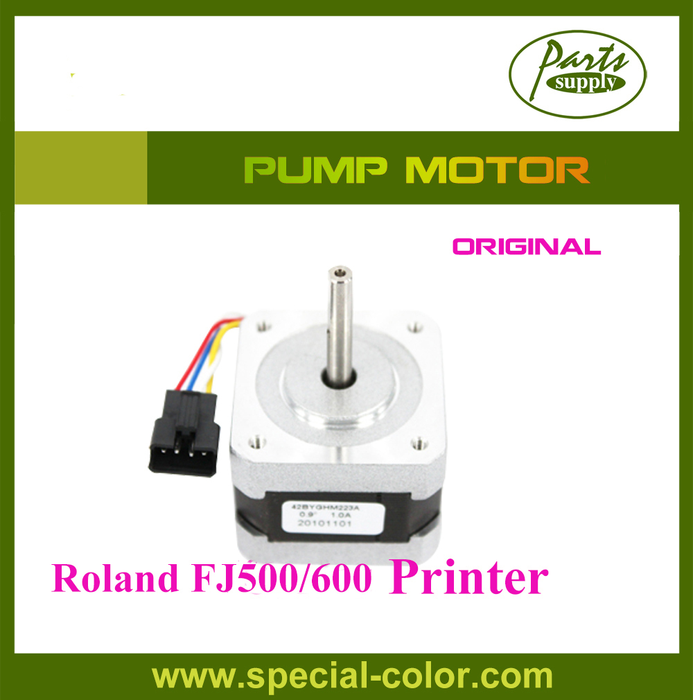 Roland Ink Pump Motor for FJ500/600 Original japan ink pump motor for roland sj745ex 645ex