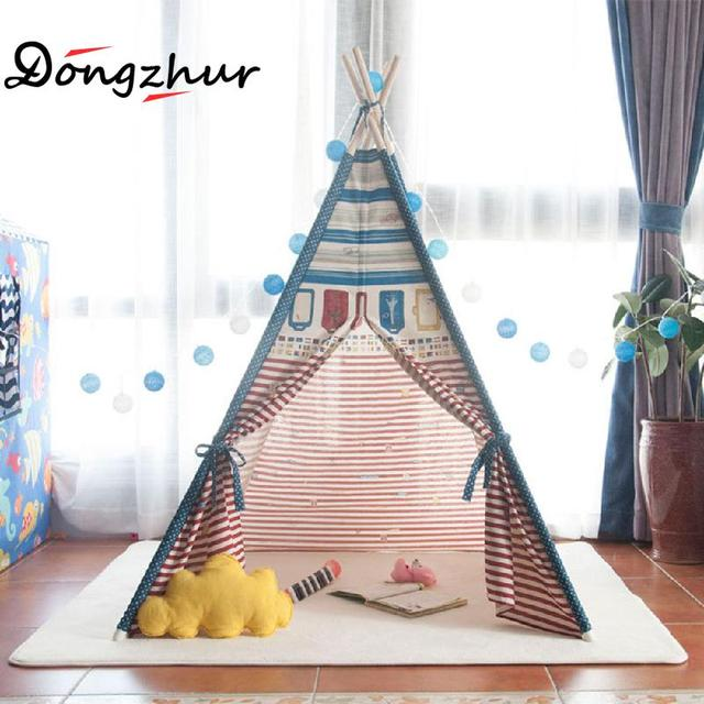 Dongzhur New Design Kids Play Tent Indian Children Teepee Playhouse Kids Folding Princess Play Tent 120  sc 1 st  AliExpress.com & Dongzhur New Design Kids Play Tent Indian Children Teepee ...