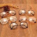 Kottdo gafas de mujer de marca diseñadores 2016 ronda retro marcos de los vidrios hombres gafas de cristal liso miopía nueva modelsplain lente oculos