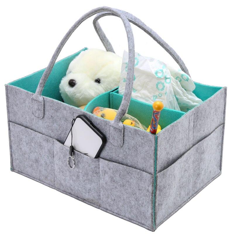 Pliable Bébé Couches Caddy Organisateur De Stockage Portable Sac/boîte pour Voiture Voyage Table À Langer Organizerer, Cadeau Enfant Jouets