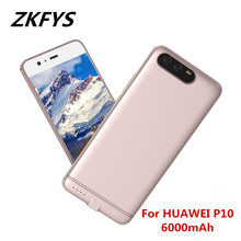 ZKFYS 6000mAh Portable Ultrathin Large Capacity  Charging Power Bank Case For HUAWEI P10 Ultra Thin Fast Charger Battery Cover