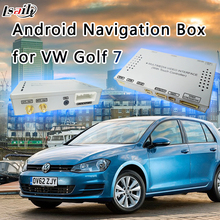 Car Video Interface Multimedia Upgrade HD Videos DVR Play Store Google MAP MirrorLink Android GPS Navigation Box for VW Golf 7