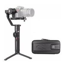 Zhiyun Crane 2 Crane2 3-осевой ручной шарнирный стабилизатор для камеры GoPro для цифровой зеркальной камеры Камера с лампой накаливания для непрерывного изменения фокусировки 7lb Полезная нагрузка OLED Дисплей, Zhiyun Gimbal