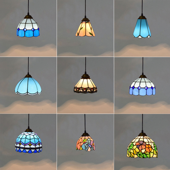 Mediterranean Style Pendant Lights Glass Shade Modern Color Led Pendant Lamp Bedroom Home Hanging Lighting Fixtures Blue Green white glass ceiling lamp modern design home collection lighting bedroom foyer doorway cloud lights frosted glass shade light