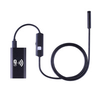 Endoscope 1m 2m 3 5m 5m Cable IOS Android Wifi Endoscope 8mm Lens 6 LED Waterproof