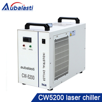 CO2 laser machine chiller cw5200 AG use for laser tube 60w 80w 100w 130w 150w 180w