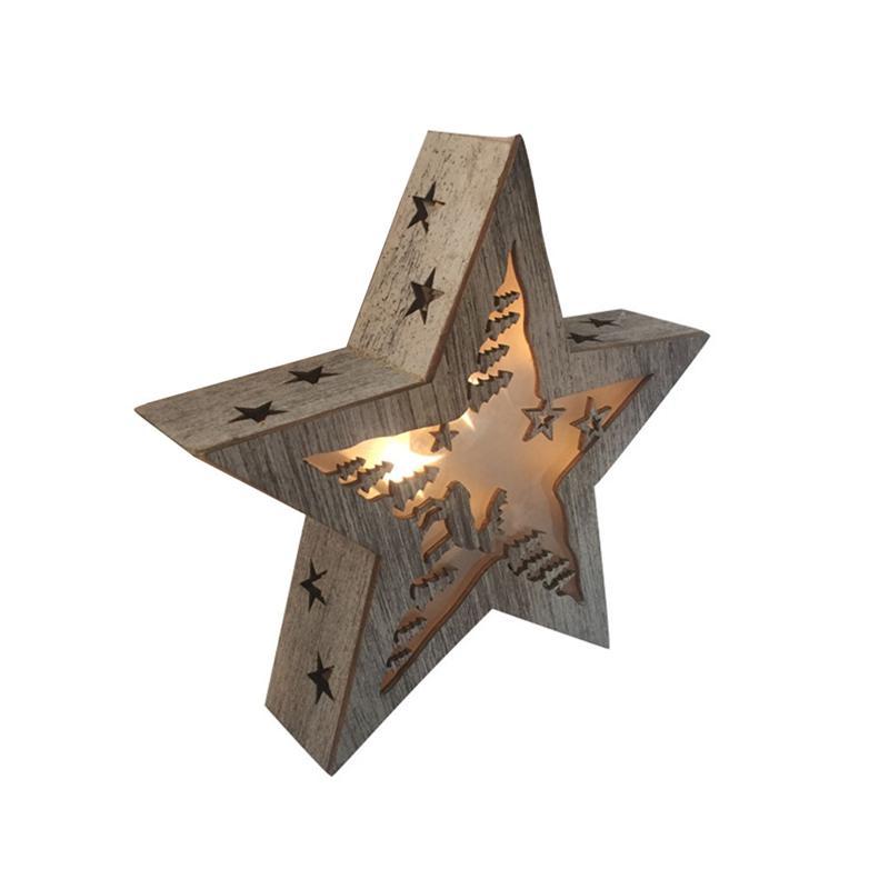 Forma di STELLA Tendone Decorativo Marquee Segno 6 W Luci LED Illuminato Segno ZODIACALE Luci A Casa Decorazione Della Parete