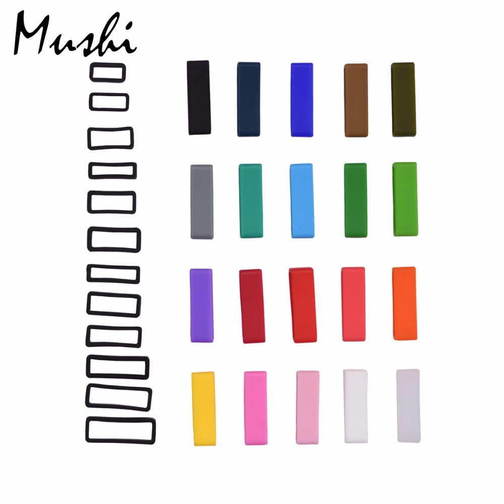 MUSHI Black White Watchbands Strap Loop Silicone Rubber Watch Bands Accessories Holder Mens Locker Watch Band 20 color 6pcsMUSHI Black White Watchbands Strap Loop Silicone Rubber Watch Bands Accessories Holder Mens Locker Watch Band 20 color 6pcs