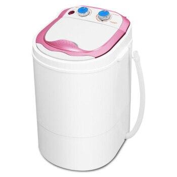 2,0 Kg Kompakte Mini Kleidung Waschmaschine Elektrische Einzigen Wanne Kleidung Einzigen Zylinder Halbautomatische Trocknen Und Waschen