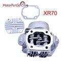 70cc culata completa para honda xr70 crf70f atc70 ct70 c70 motor componentes