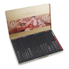 Марко Ренуар Изобразительное искусство Профессиональные воды Цветные карандаши 36 шт./компл. с металлическая банка 3220-36TN