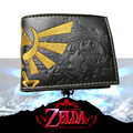 The Legend of Zelda wallet Young men and women students personality short animated cartoon fashion purse