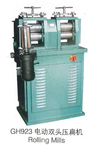 rolling mills double head rolling mill Electric Rolling Mill For Jewelry