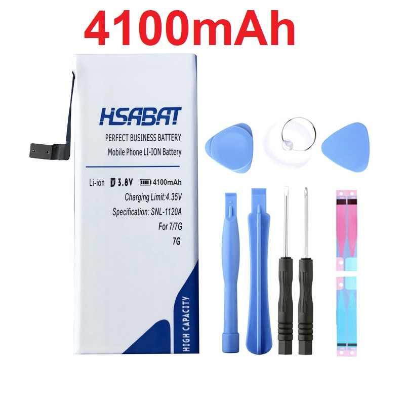 HSABAT 100% новая батарея нулевой емкости для iPhone 5 5S 5C 6 6 S 7 в пределах бесплатных инструментов и наклеек