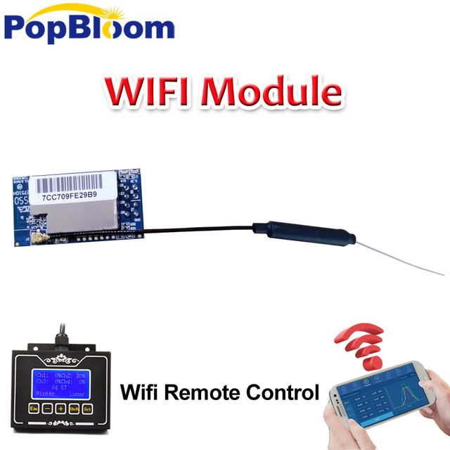 PopBloom Smart WiFi Module led Marine Coral Reef Freshwater Aquarium Light Programmable WiFi Controller