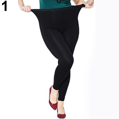 Fashion Women Casual Plus Size Sexy Elastic High Waist Modal Trousers Leggings