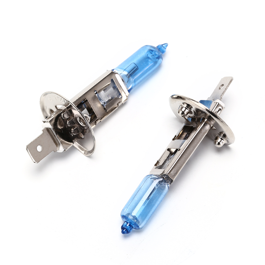2pcs/lot 55W/ 100W Auto Fog Halogen Bulb Light Bulbs Headlight Bulbs DC 12V H1 Car Xenon