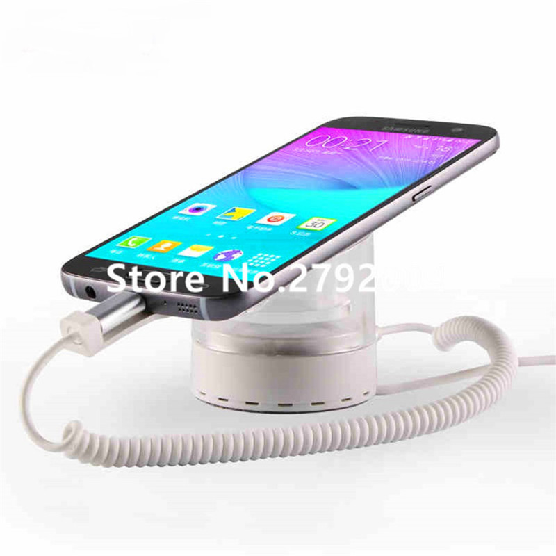 10pcs/lot universal micro lighting Type C charge cable Mobile Phone Security display Holder for Cellphone display 10pcs lot b type phone tail charing