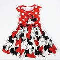 2017 summer style NEW Children baby girl Clothing meninas Girls Tutu Princess Minnie Dress kids clothes vestidos infantis DY019A