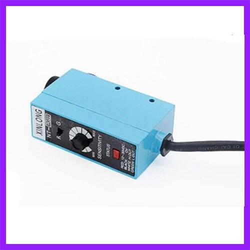 Machine photoélectrique de sac de positionnement de Correction de commutateur photoélectrique de capteur de marque de couleur d'oeil de suivi d'induction de couleur de NT-RG22