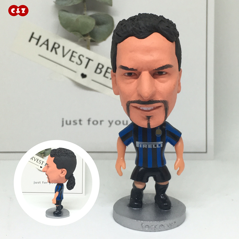 Soccerwe dolls figurine Sports player 10# IM BAGGIO classic Movable joints resin model toy action figure dolls collectible gift