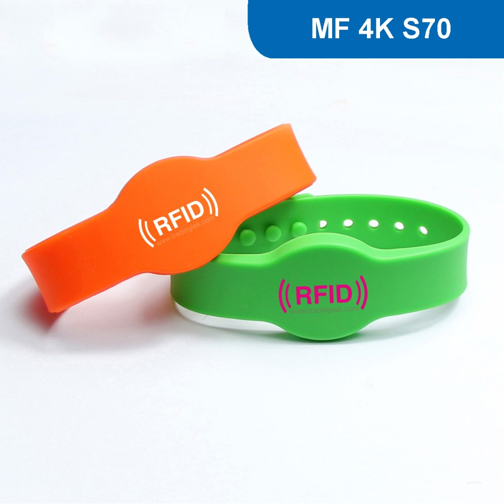 WB04 Silicone RFID Wristband  RFID Bracelet Protocol: ISO 14443A Frequency 13.56MHz with MF 4K S70 Chip Free Shipping heena dhawan a heterogenous clustering protocol in wsn href leach protocol