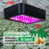 Full Spectrum Led Grow Panel Lamp 300W Mini Led Plant Grow Light Best for Hydroponic Systems Flowering Plant Bloom UV IR