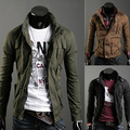 Clothing Sale Mandarin Collar Cotton Coat 2016 Spring New Arrival Jacket Trend Slim Outerwear Male Stand Collar Design Olive