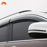 For Jeep Cherokee 2014 2015 2016 ABS Plastic Window Visor Sun Visor Door Visors Sun Rain