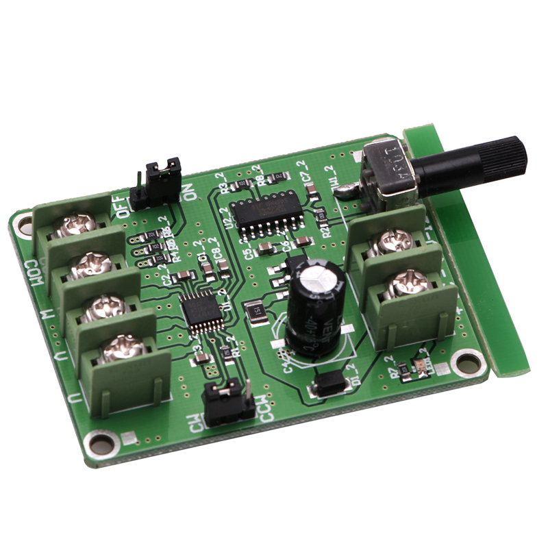 1Pc <font><b>5V</b></font>-<font><b>12V</b></font> <font><b>DC</b></font> <font><b>Brushless</b></font> <font><b>Driver</b></font> <font><b>Board</b></font> Controller For Hard Drive Motor 3/4 Wire image
