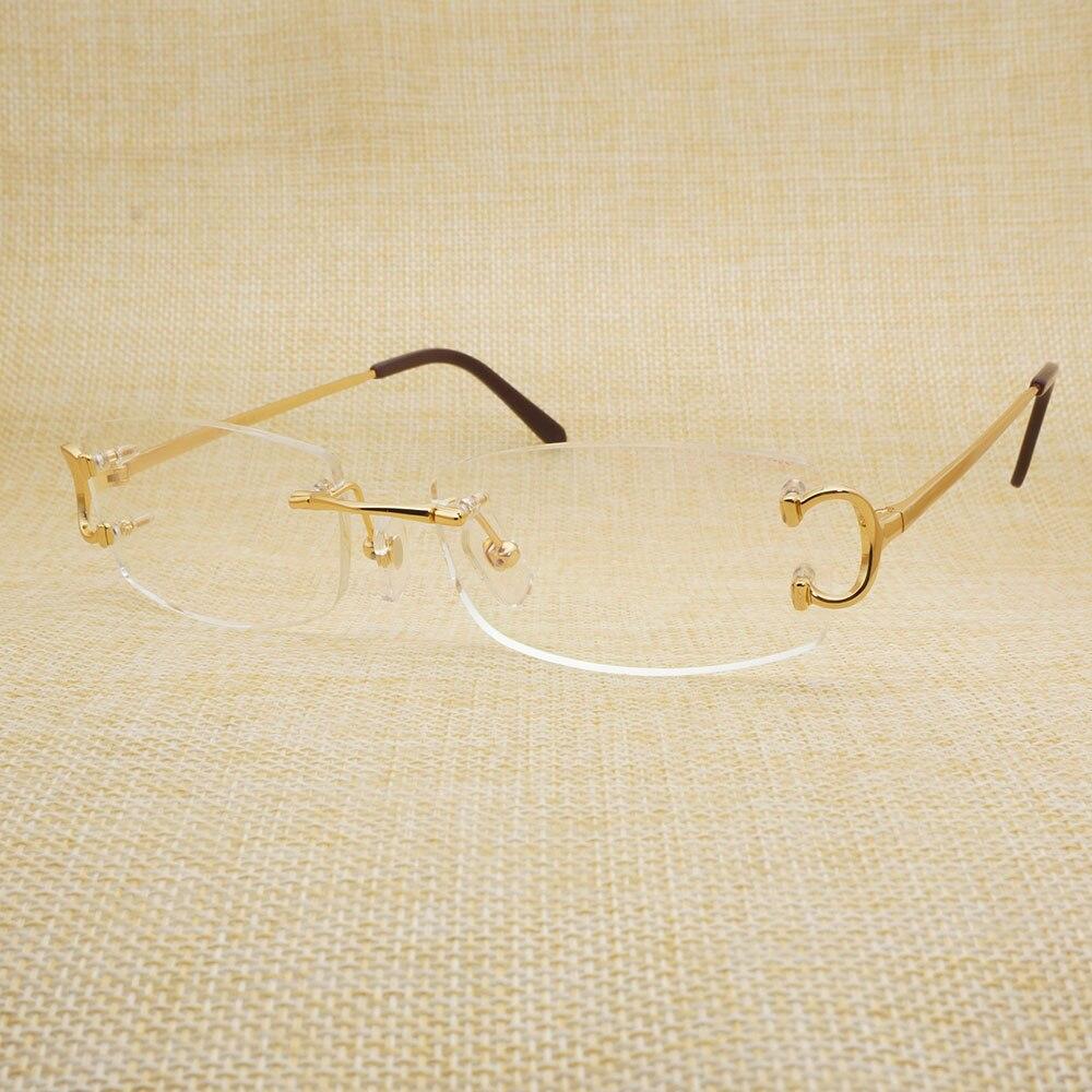 Vintage Klare Gläser Männer Carter Brillengestell für Lesen Füllen ...