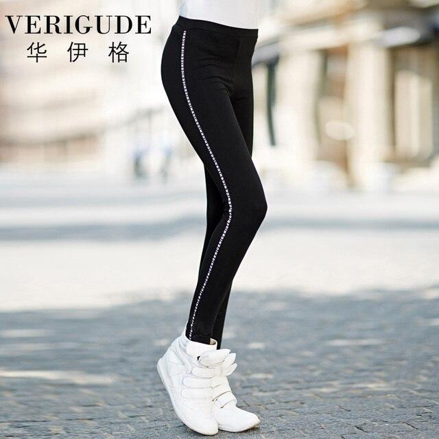 Veri Gude Women Legging Long Skinny Pants for Autumn One Size