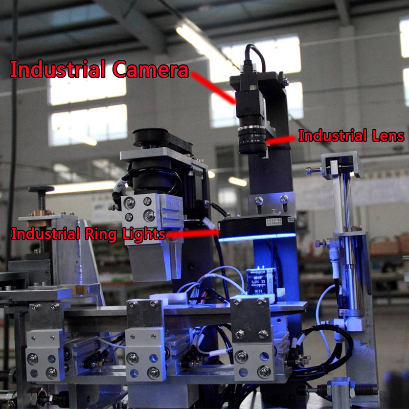 US $1350 0 |High Speed Gige Ethernet 5MP Industrial Machine Vision CCD  Digital Camera + SDK, Global Shutter OpenCV Halcon Python C# C++ VB6-in