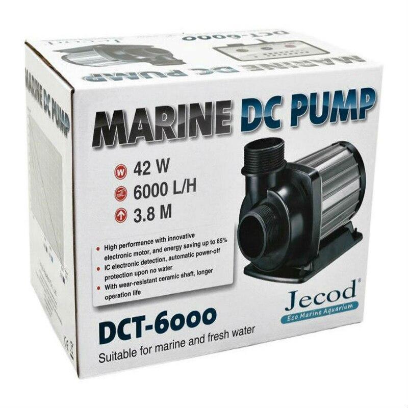 Jecod/Jebao DCT-6000 Débit Variable DC réservoir d'aquarium Retour Pompe À Eau avec Contrôleur Marine Récif Submersible Pompe de Puisard 6000L/ h
