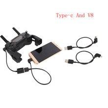 HIPERDEAL беспилотник кабель аксессуары для контроллера передатчика тип-c V8 USB кабель Разъем для DJI Mavic Pro RC MAY30