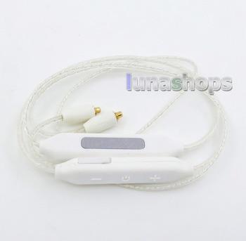 LN005891 CSR8645 Chip APTX V4.1 Bluetooth Wireless Sport In-ear Stereo Silver MMCX Cable For Shure se535 se846 se215