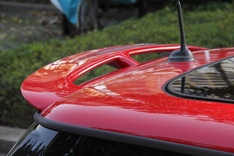 2006-2013 Mini Cooper  R55 R56 R57 John Cooper Works Style Roof Spoiler FRP (7)