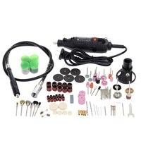 Electric Grinding Set Regulating Speed Drill Grinder Tool For Milling Polishing Drilling Engraving Kit 114pcs Dremel