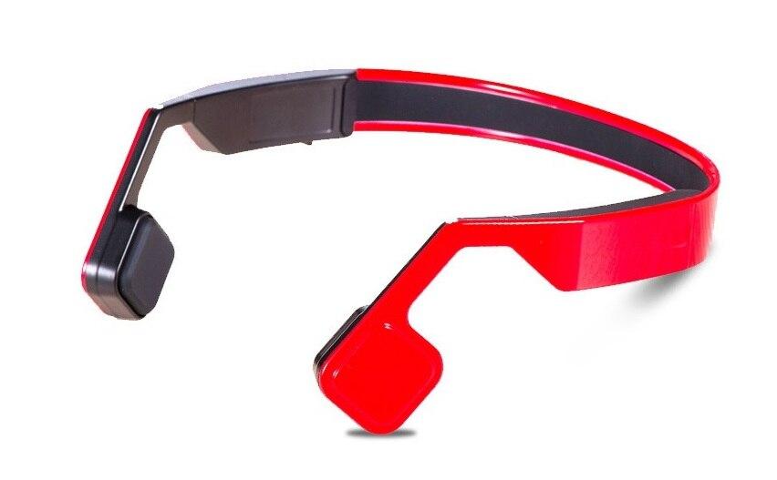 2017 newest Bone Conduction Wireless Bluetooth 4.1 Waterproof Stereo Headset Sports Headphone with Mic for running earphone