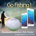 Портативный рыболокатор Bluetooth беспроводной эхолот Sonar сенсор глубина рыболокатор для озерной морской рыбалки IOS и Android