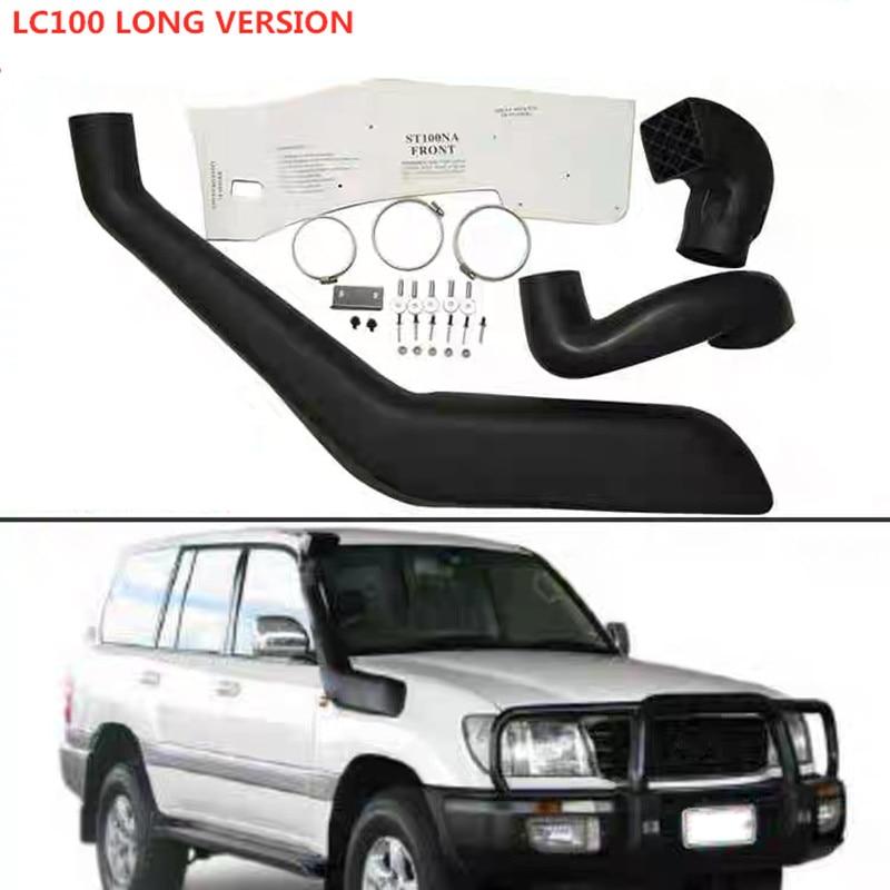 4*4  EXTERIOR PARTS LLDPE Snorkel KIT SET Air Intake Snorkel Kit Set FIT FOR LX470 FJ100 LC100 LANDCRUISER 4700 1998-2007 CAR