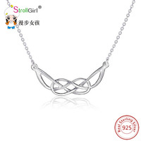 Charm Necklace Pendants 925 Authentic Sterling Silver Pendant Necklace Chain Collier Women Gift Jewelry Accessories New