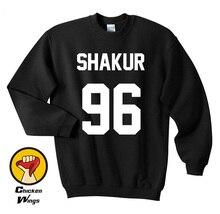 Shakur 96 Shirt Tupac 2PAC Shirts Crewneck Sweatshirt Unisex More Colors XS - 2XL