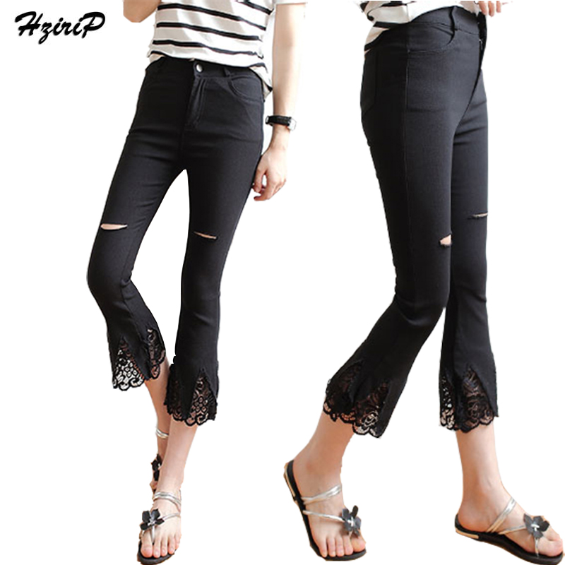 High Quality Black Skinny Capris Promotion-Shop for High Quality ...