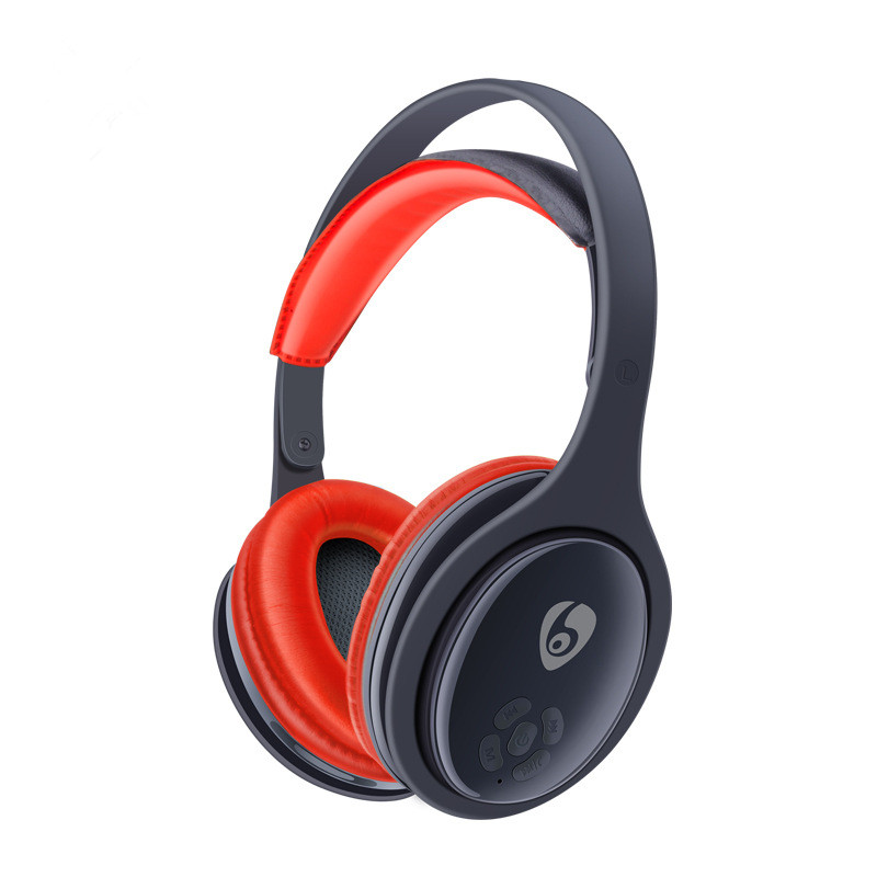 ФОТО OVLENG MX555 Wireless Bluetooth 4.1 Earphone Stereo Noise FM Radio Portable with Microphone TF Card Slot for Mobile Phone Music