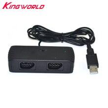Xunebeifang 7 pinów 2 graczy dla Nintendo dla NES FC kontroler do gier na USB dla systemu Android pary PC MAC adapter