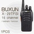 1 PCS BUXUN X-29TFSI Walkie Talkie 5 W Handheld Pofung UHF 5 W 16CH 400-470 MHz em Dois sentidos Radio CB portátil