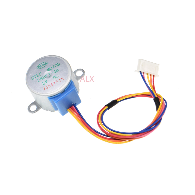 28BYJ-48 Stepper Motor 4 phase 5 Volt Ideal for Ardunio