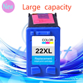 Genuine 1 Pcs Ink Cartridge for HP 22  XL For HP cartridges 22  for HP Deskjet 3915 D1530 D1320 F2100 F2280 F4100 F4180
