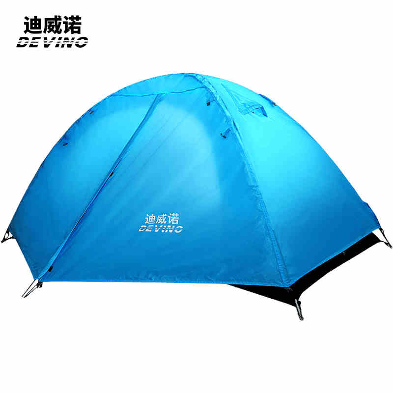 DEVINO Manual winter tents 2400G outdoor Camping Tent 4 ...